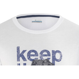 Columbia Miller Valley - T-shirt manches courtes Homme - blanc